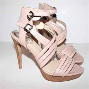 VINCE CAMUTO HEELS  GENTLY USED